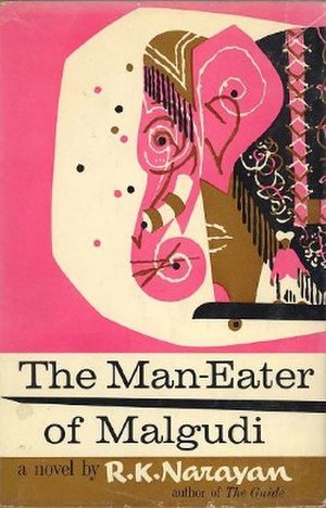 The Man-Eater of Malgudi - First US edition