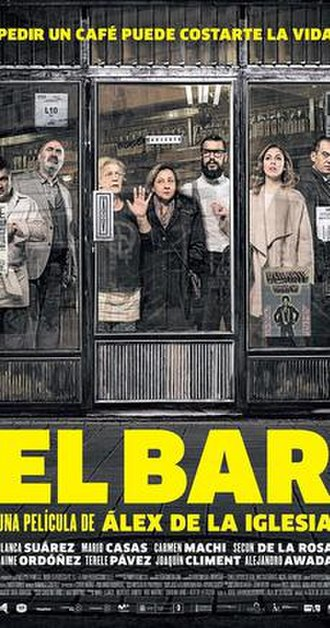 The Bar (film) - Theatrical release poster