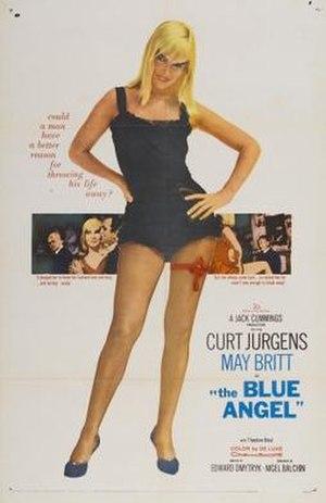The Blue Angel (1959 film) - Film poster