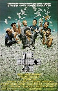 <i>The Brinks Job</i> 1978 film by William Friedkin