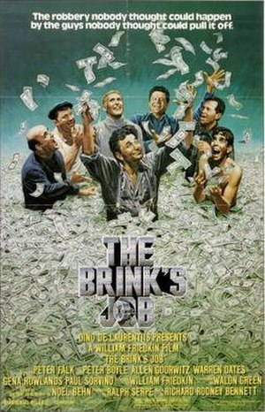 The Brink's Job - Theatrical release poster