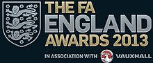 The FA England Awards logo
