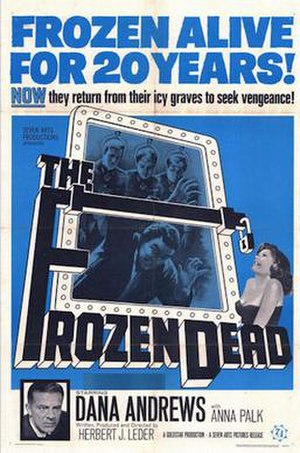 The Frozen Dead - 1967 US Theatrical Poster