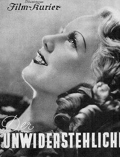 <i>The Irresistible Man</i> 1937 film by Géza von Bolváry