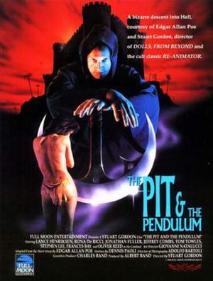 The Pit and the Pendulum (1991 film) - Theatrical release poster