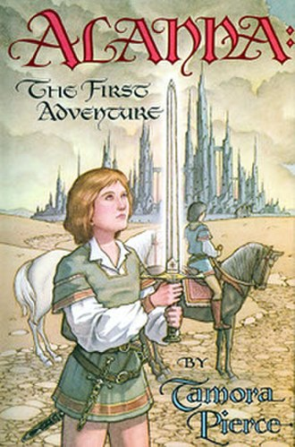 The Song of the Lioness - Image: The Song of the Lioness Alanna The First Adventure Cover