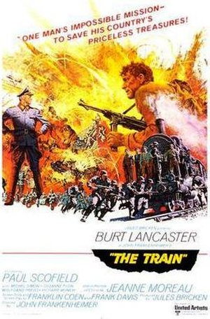 The Train (1964 film) - Movie poster by Frank McCarthy