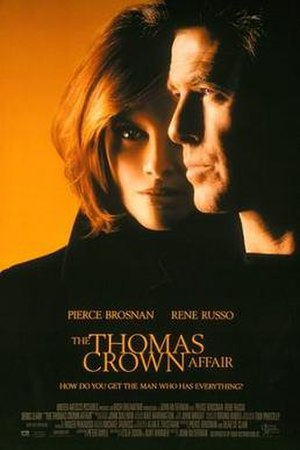 The Thomas Crown Affair (1999 film) - Original theatrical poster