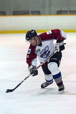 Tillsonburg Thunder - Tillsonburg Vipers player in 2007-08 season.