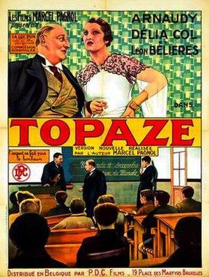 Topaze (1936 film) - Image: Topaze (1936 film)
