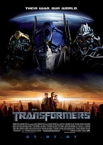 Transformers (film) - Image: Transformers 07