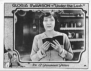 Under the Lash - Lobby card