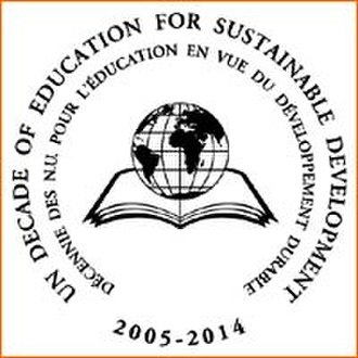 United Nations Decade of Education for Sustainable Development - Image: United Nations Decade of Education for Sustainable Development