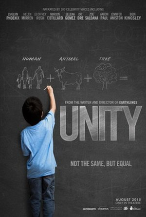 Unity (film) - Promotional poster