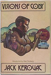 <i>Visions of Cody</i> novel by Jack Kerouac