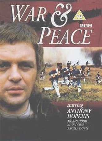 War and Peace (1972 TV series) - DVD cover
