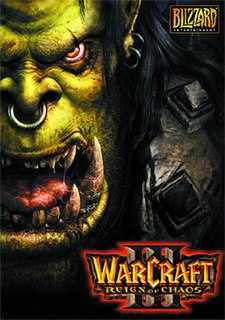 <i>Warcraft III: Reign of Chaos</i> 2002 computer videogame