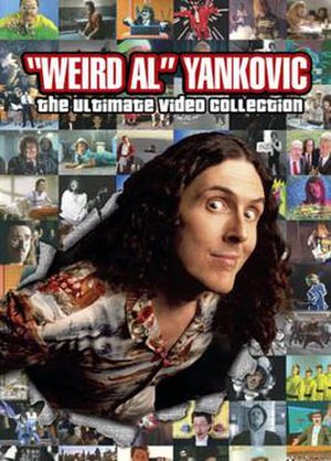"""Weird Al"" Yankovic: The Ultimate Video Collection - DVD cover."