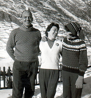 Will Lang Jr. - Will Lang Jr. and his wife Louise and his daughter Luisa in Austria