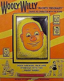 Bald man magnetic hair