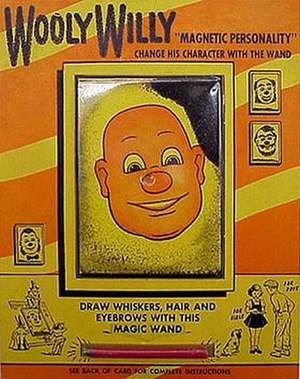The original Wooly Willy was manufactured by t...