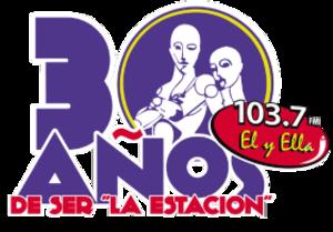 XHCEL-FM - Image: XHCEL Ely Ella 103.7 logo