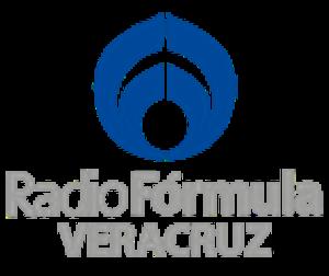 XHAVR-FM - Image: XHETF Radio Formula Veracruz logo