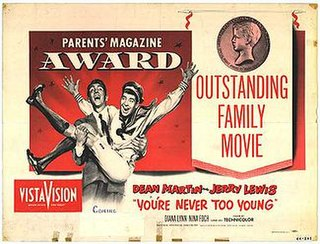 <i>Youre Never Too Young</i> 1955 American comedy film directed by Norman Taurog