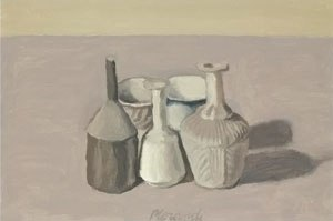Giorgio Morandi - Natura Morta, oil on canvas, 1956.