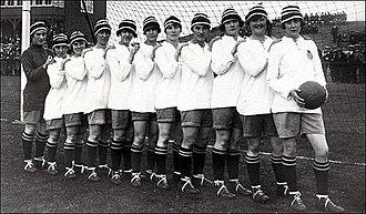 Dick, Kerr's Ladies F.C. - Dick, Kerr's Ladies in 1921
