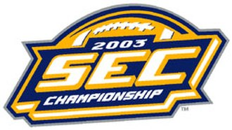 2003 SEC Championship Game - 2003 SEC Championship logo.