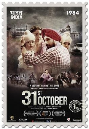 31st October (film) - Official Poster