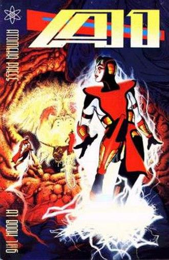 A1 (comics) - Image: A1 Book 1