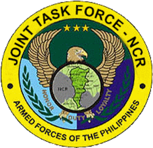 AFP Joint Task Force-National Capital Region - Image: AFP Joint Task Force National Capital Region coa