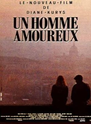 A Man in Love (1987 film) - French theatrical poster