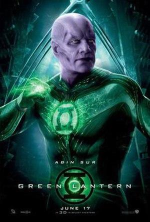 Abin Sur - Temuera Morrison as Abin Sur in Green Lantern.