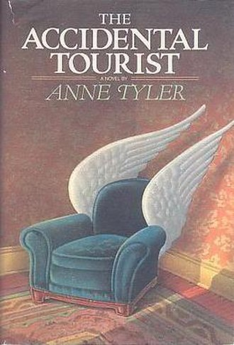 The Accidental Tourist - First edition cover
