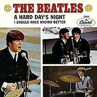 """A Hard Day's Night"" cover"