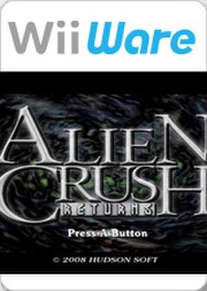 Alien Crush Returns - Image: Alien Crush Returns
