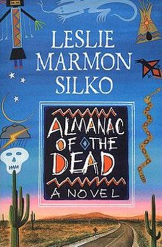 Almanac of the Dead - Cover of first edition (hardcover)