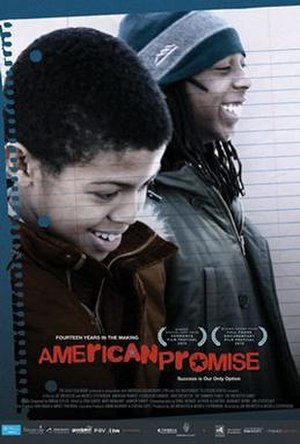 American Promise (film) - Theatrical release poster
