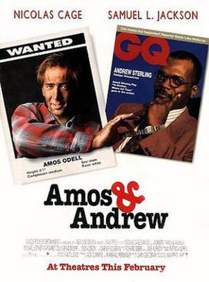 Amos & Andrew - Theatrical release poster