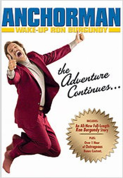 Picture of a movie: Wake Up, Ron Burgundy: The Lost Movie