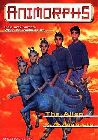 The Alien (novel) - Image: Animorphs bk 08