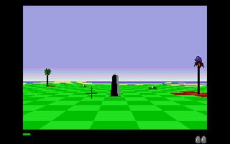 Archipelagos (video game) - The first level (Atari ST).