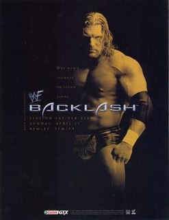Backlash (2002) 2002 World Wrestling Federation pay-per-view event