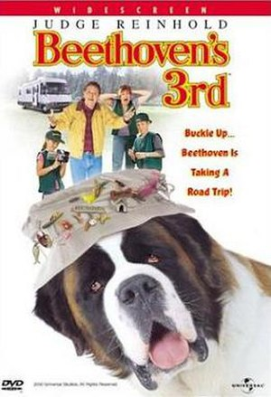 Beethoven's 3rd (film) - DVD cover