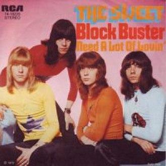 Block Buster! - Image: Block Buster! (The Sweet album) coverart