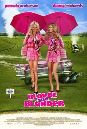 Blonde and Blonder - Theatrical release poster