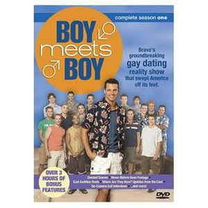 Boy Meets Boy (TV series) - Season 1 DVD Cover